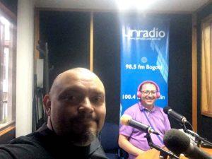 Entrevista en Instalaciones UN Radio Medellín