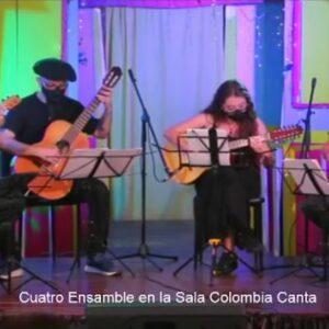 Cu4tro Colombia Canta 07 2021 Flyer Concierto
